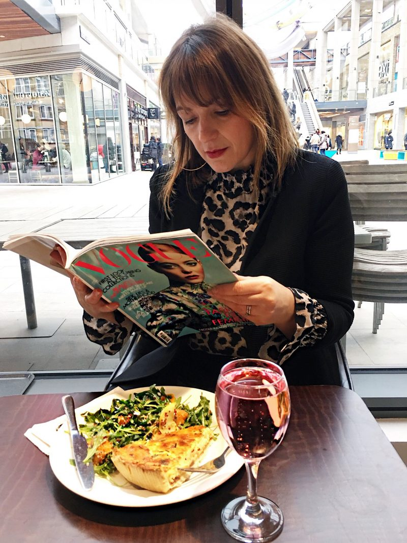 John Lewis Benugo lunch with Vogue