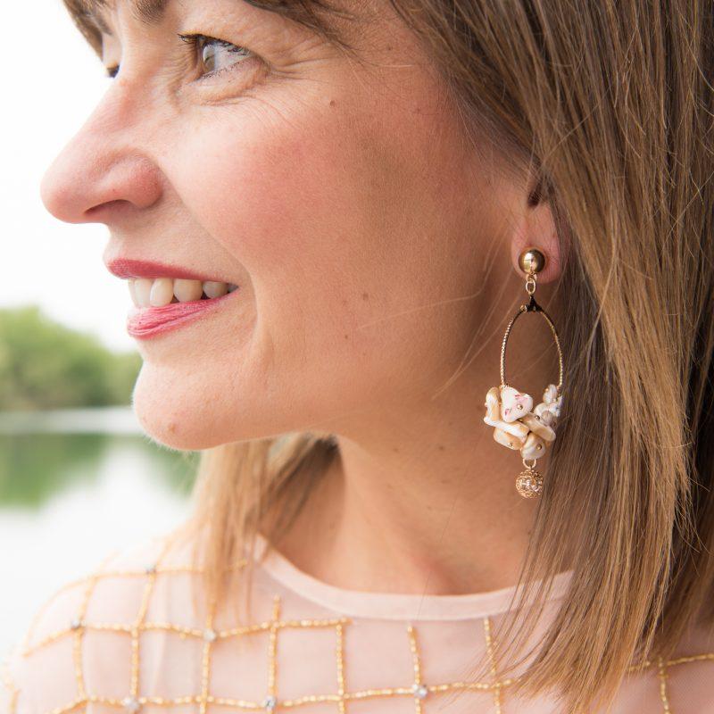 Janis Foales Shell Earrings
