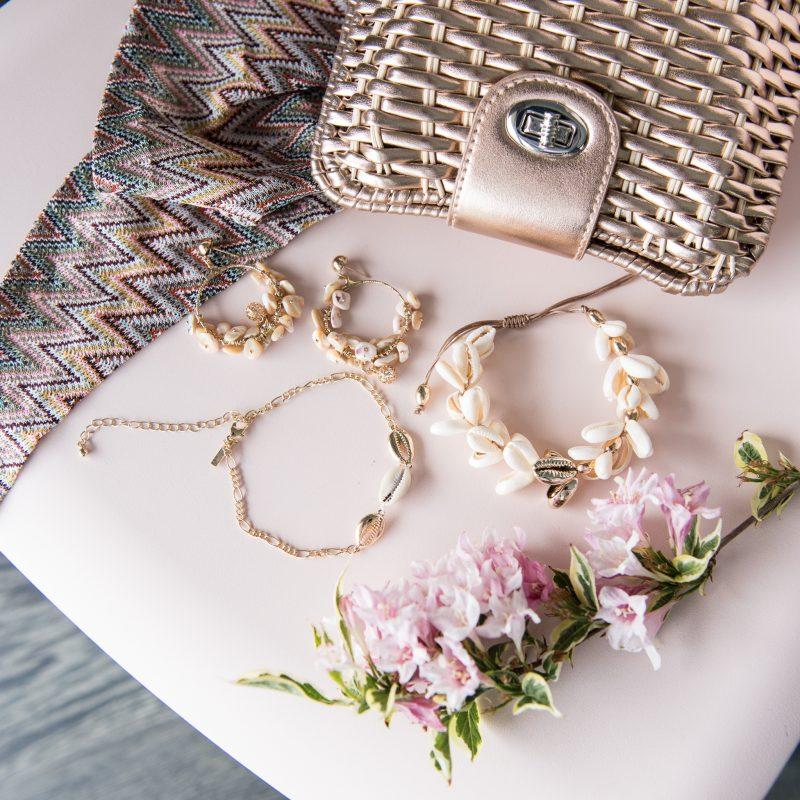 Shell Jewellery Flatlay