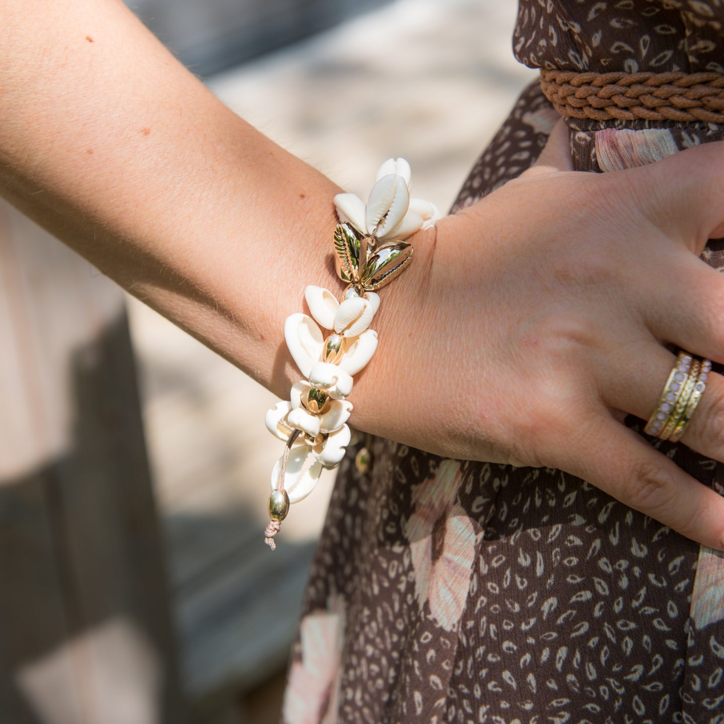 Toria Lee Accessories Rhi Shell Bracelet