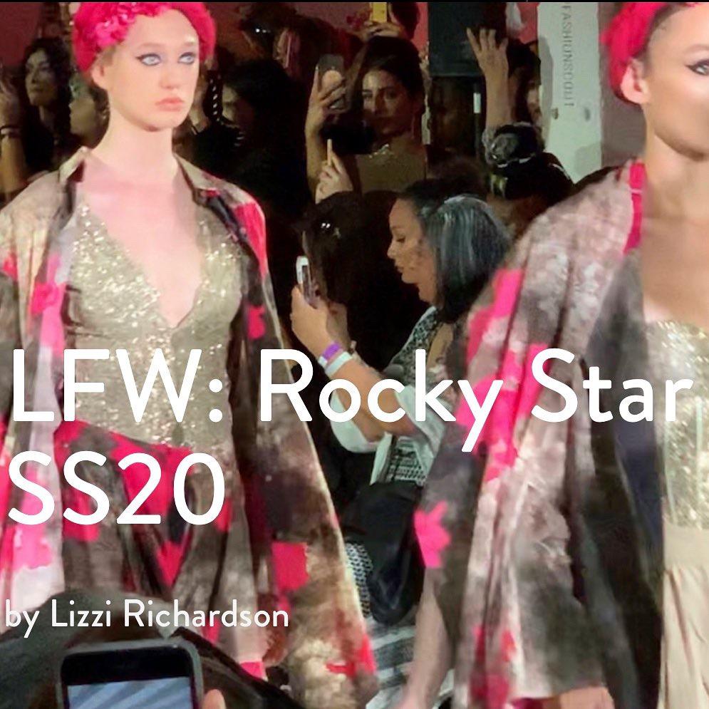 LFW Rocky Star SS20