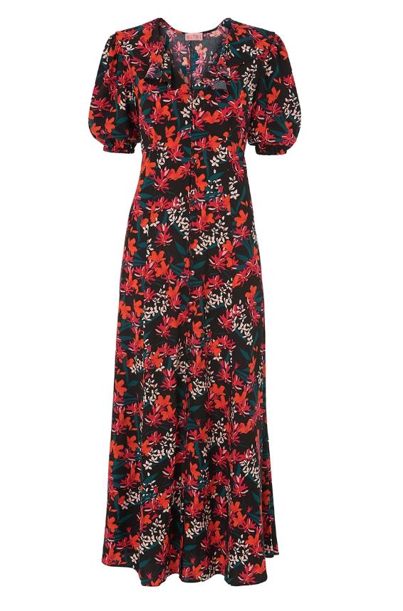 Salma Vintage Maxi Dress