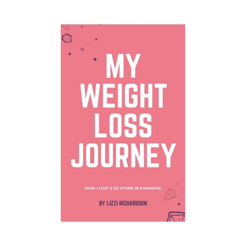 My Weight Loss Journey Front Cover