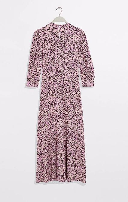 lilac leopard print