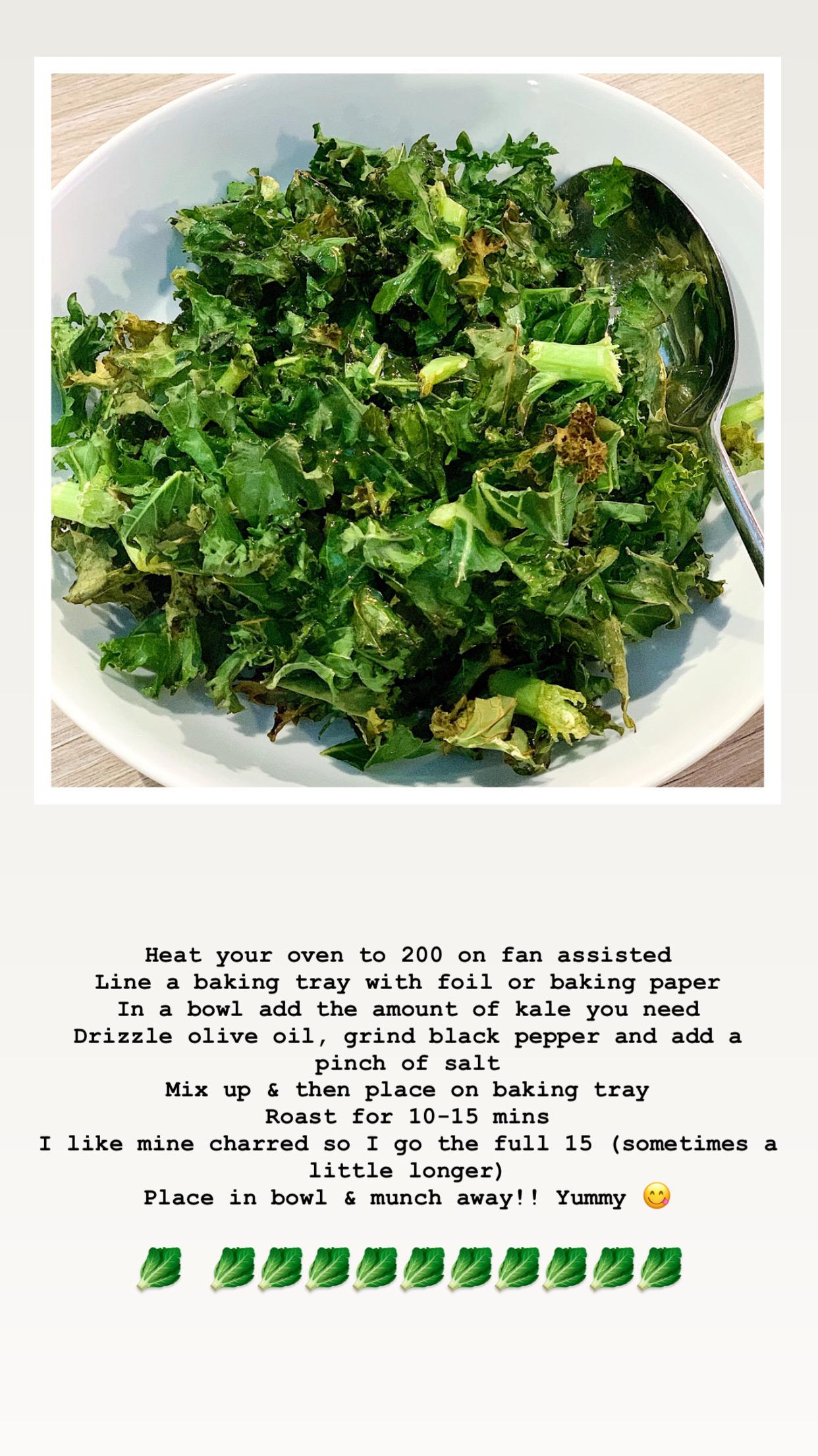 roasted kale instructions