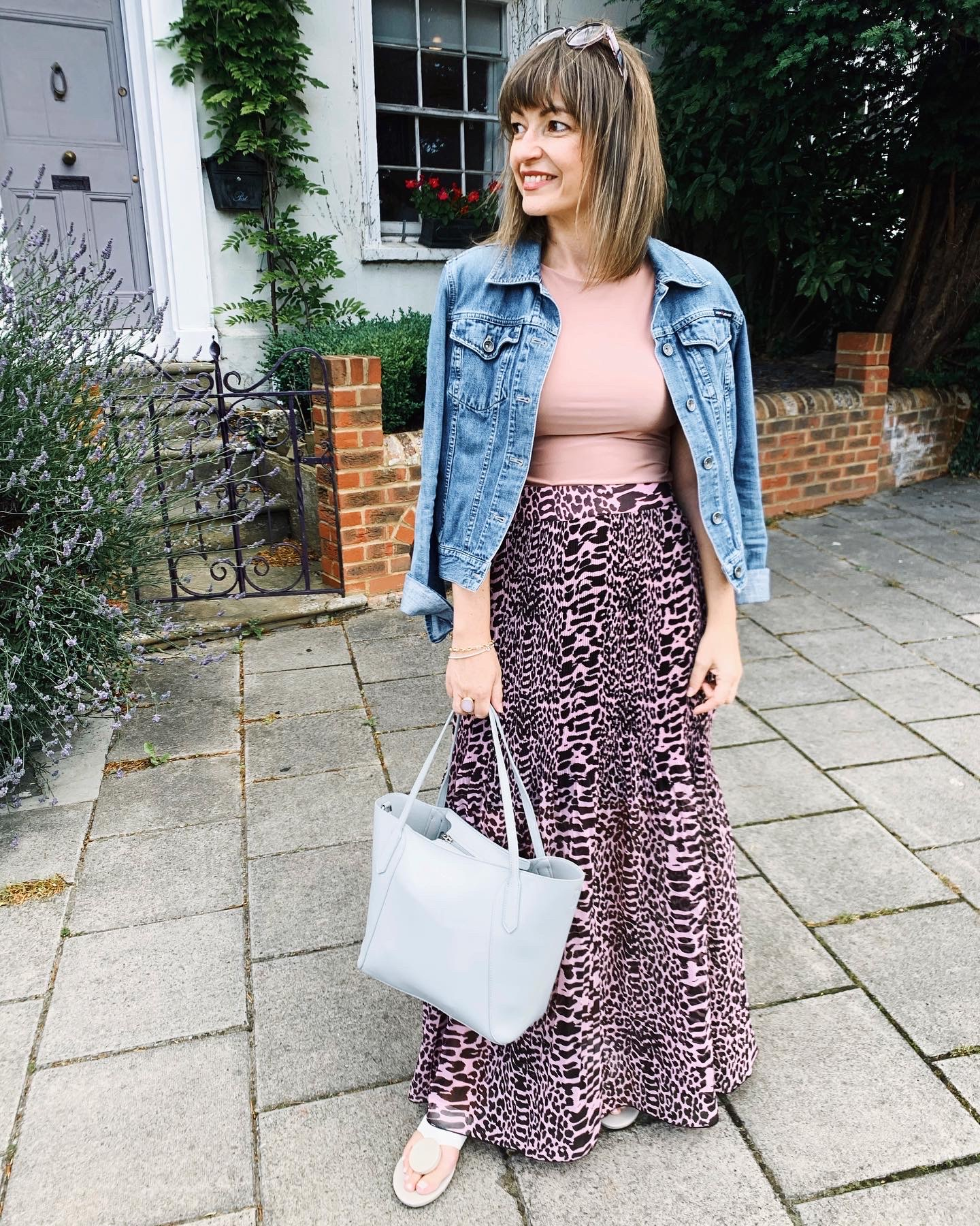 DAY LOOK - HOW TO WEAR A MAXI SKIRT