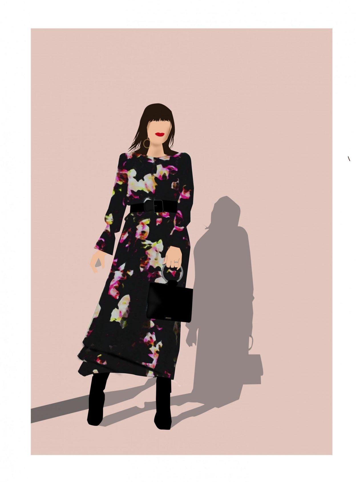 Fashion Illustration of London Fashion Week