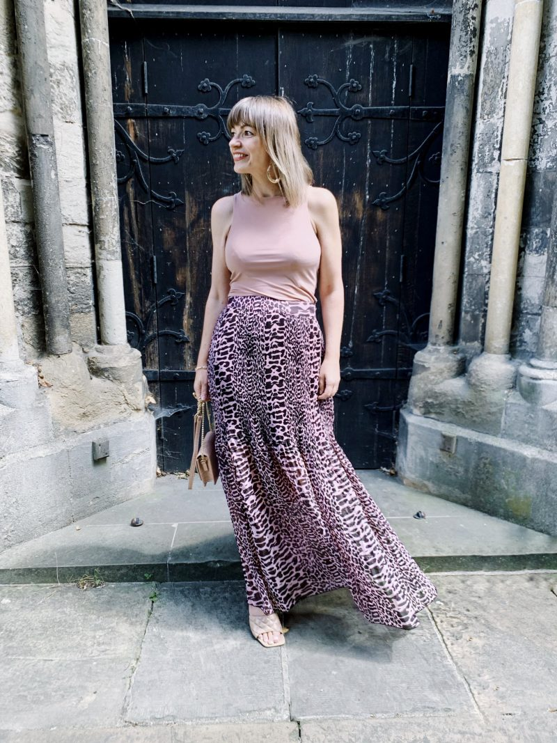 HOW TO WEAR A MAXI SKIRT OUTFIT POST