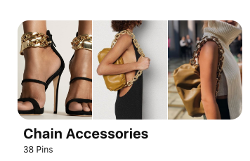 gold chain accessories