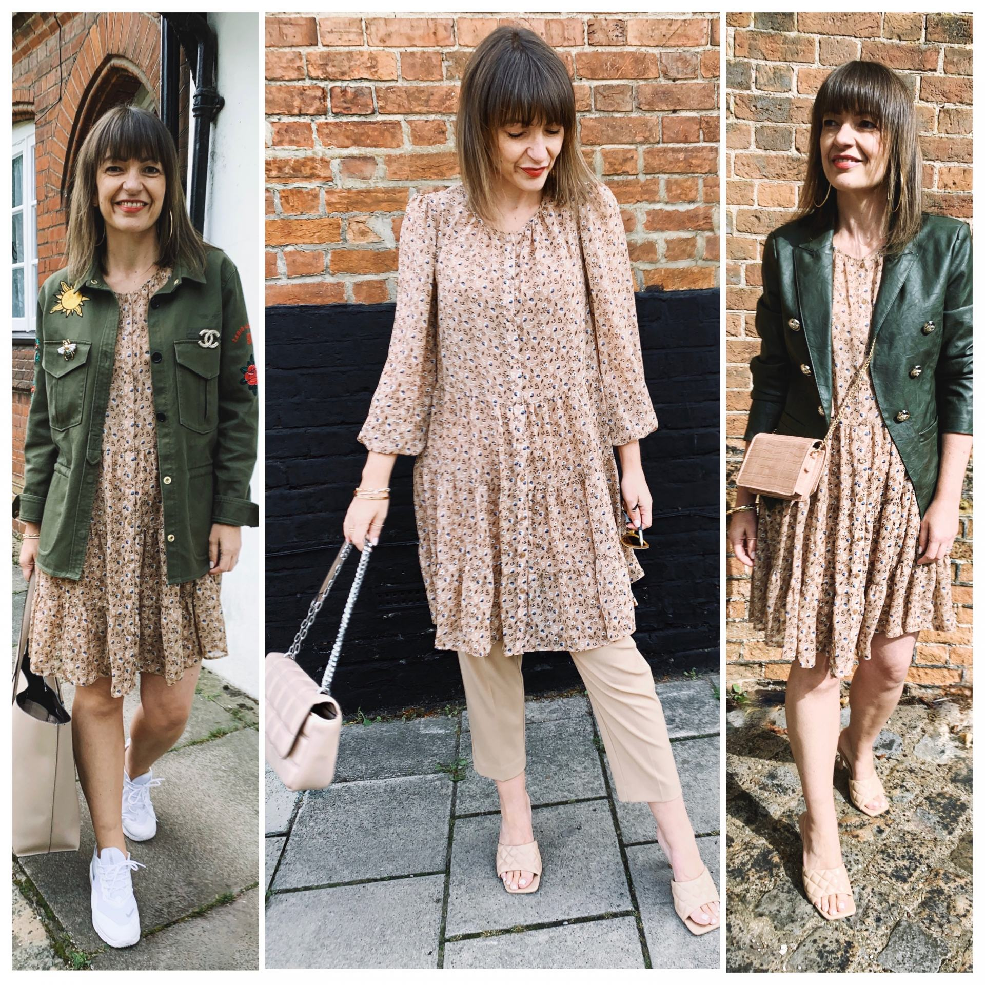 ONE CHIFFON DRESS THREE WAYS