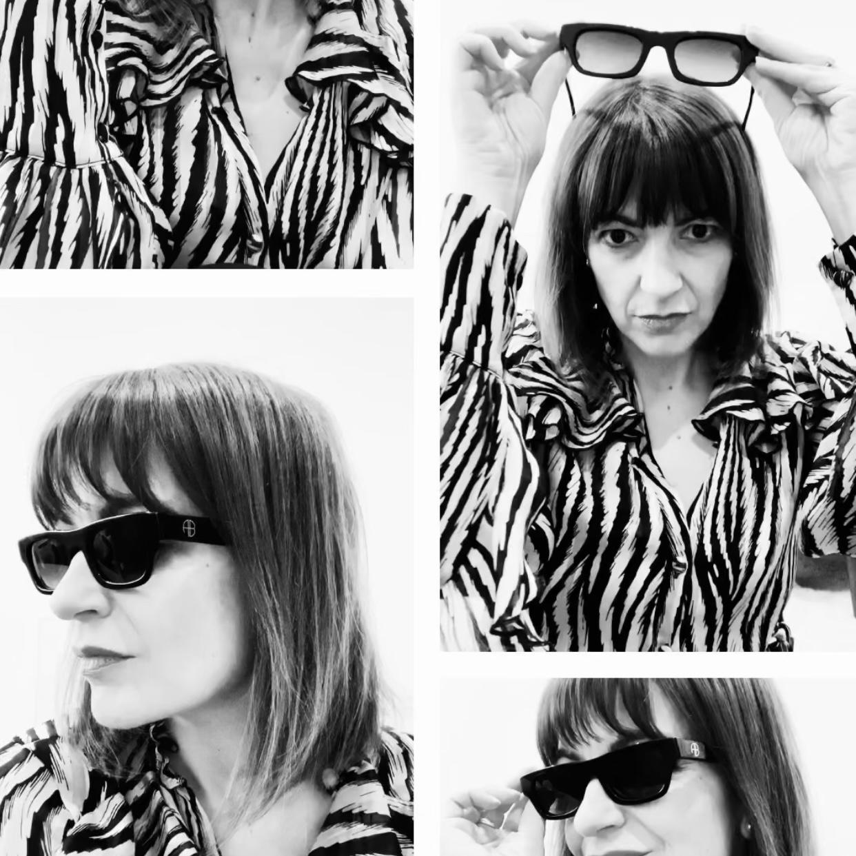fashion sunglasses by Anine Bing