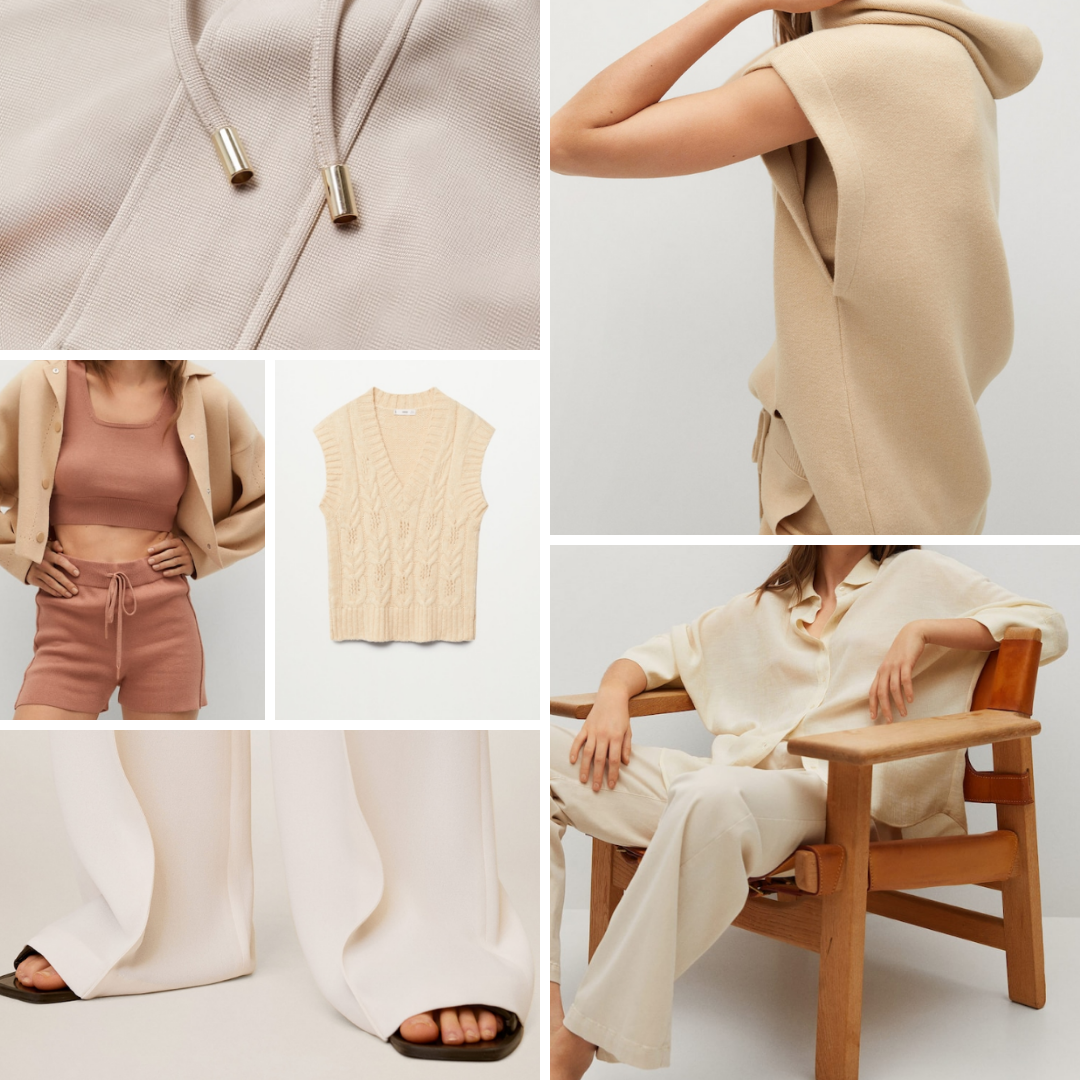 11 spring neutral garments that are perfect for Spring 2021 to wear right now whilst at home or as we head back to the office.